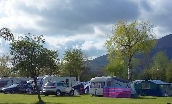 Caravans & Camping Pyscodlyn